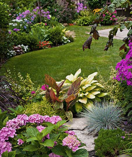 Tom's Picture Perfect Landscape Residential Garden Design