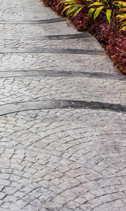 Tom's Picture Perfect Landscape Residential Decorative Concrete