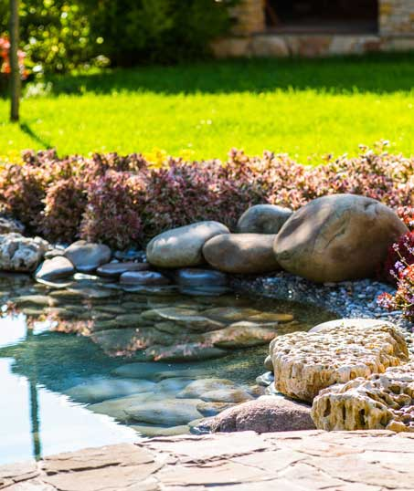 Tom's Picture Perfect Landscape Residential Water Features